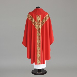 Gothic Chasuble 6152- White  - 8