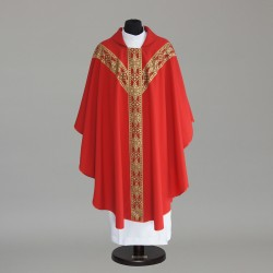Gothic Chasuble 6153- Red