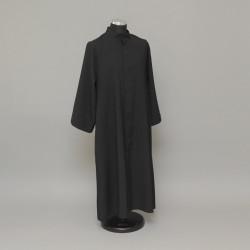 Black altar server cassock,...