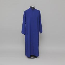 Blue altar server cassock, up to 5ft 0312  - 1