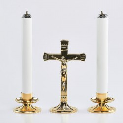 "Cross and 1 1/4"" Candle..."