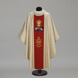 Gothic Chasuble 6298 - Gold