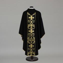Gothic Chasuble 6304 - Black