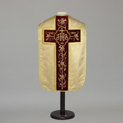 Roman Chasuble 6332 - Gold