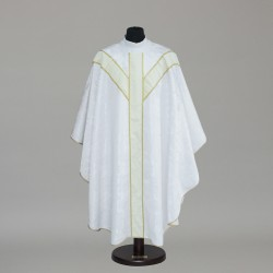 Gothic Chasuble 6337 - White