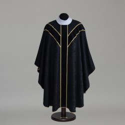 Gothic Chasuble 6339 - Black  - 1