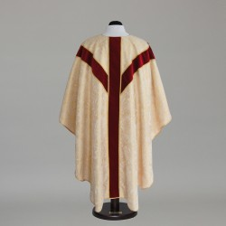 Gothic Chasuble 6343 - Gold