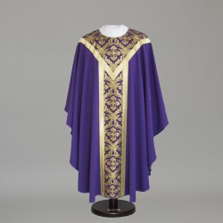 Gothic Chasuble 6347 - Purple