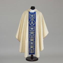 Gothic Chasuble 6348 - Gold