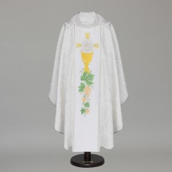 Gothic Chasuble 6366 - White