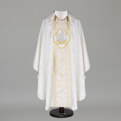 Gothic Chasuble 6367 - White
