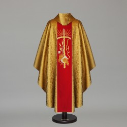 Gothic Chasuble 6371 - Gold