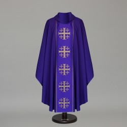Gothic Chasuble 6373 - Purple