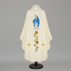 Gothic Chasuble - 6372 - Cream