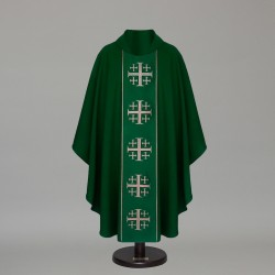 Gothic Chasuble 6374- Green