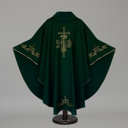 Gothic Chasuble 6376 - Green