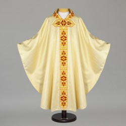 Gothic Chasuble 6378 - Gold