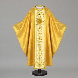 Gothic Chasuble 6382 - Gold