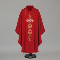 Gothic Chasuble 6388	- Red