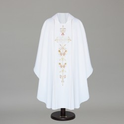 Gothic Chasuble 6390 - White