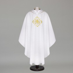 Gothic Chasuble 6395 - White