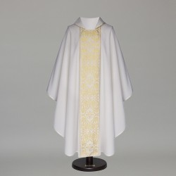 Gothic Chasuble 6405 - White