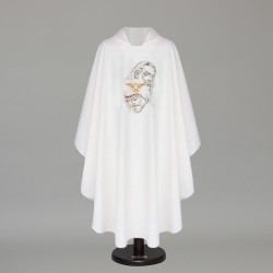 Gothic Chasuble 6409 - White