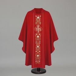 Gothic Chasuble 6412 - Red