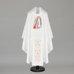 Gothic Chasuble 6418 - White