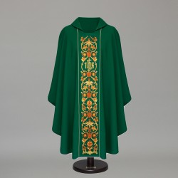 Gothic Chasuble 6423 - Green