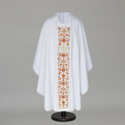 Gothic Chasuble 6424 - White