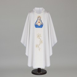 Gothic Chasuble 6426 - Silver