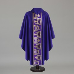 Gothic Chasuble 6428 - Purple