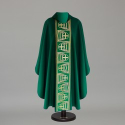 Gothic Chasuble 6429 - Green