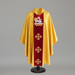 Gothic Chasuble 6430 - Gold