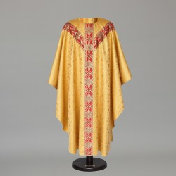 Gothic Chasuble 6443 - Gold