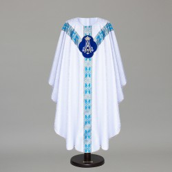 Gothic Chasuble 6445 - White