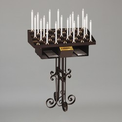 48 Candle Artistic Votive Stand 6383