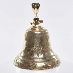 Wall mounted brass bell 6476