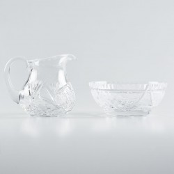 Crystal Lavabo Dish with...