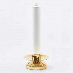 Candle holder with Oil candle 6491