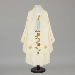 Gothic Chasuble - 6496 - Cream