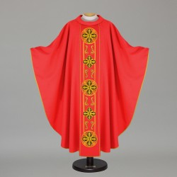 Gothic Chasuble - 6506 - Red