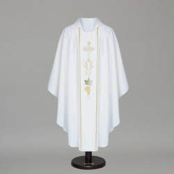 Gothic Chasuble 6328 - White