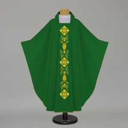 Gothic Chasuble - 6512 - Green