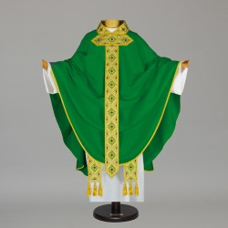 Gothic Chasuble - 6571 - Green