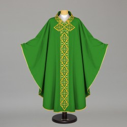 Gothic Chasuble - 6574 - Green