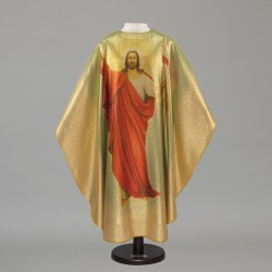 Gothic Chasuble 6590 - Gold