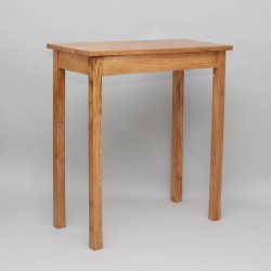 Credence Table 6523 - Oak  - 1