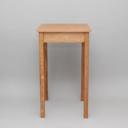 Credence Table 6522 - Oak  - 2
